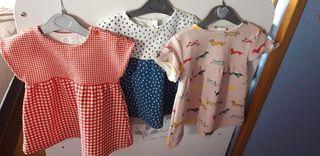 3 Vestidos bebe Zara