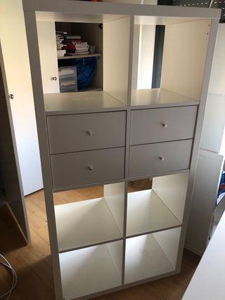 Estanteria de Ikea con cajones