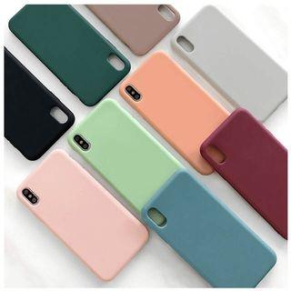Funda iPhone 7 8 6 silicona