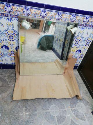 Espejo baño con luces 60x80