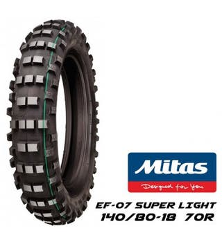 Neumáticos enduro mitas ef07 verde