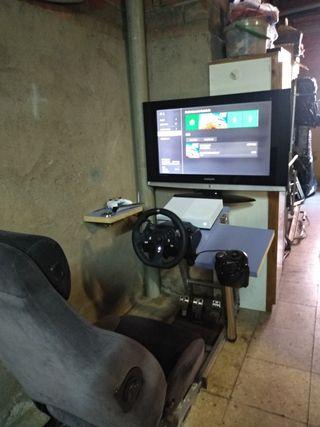 simulador de conducción completo