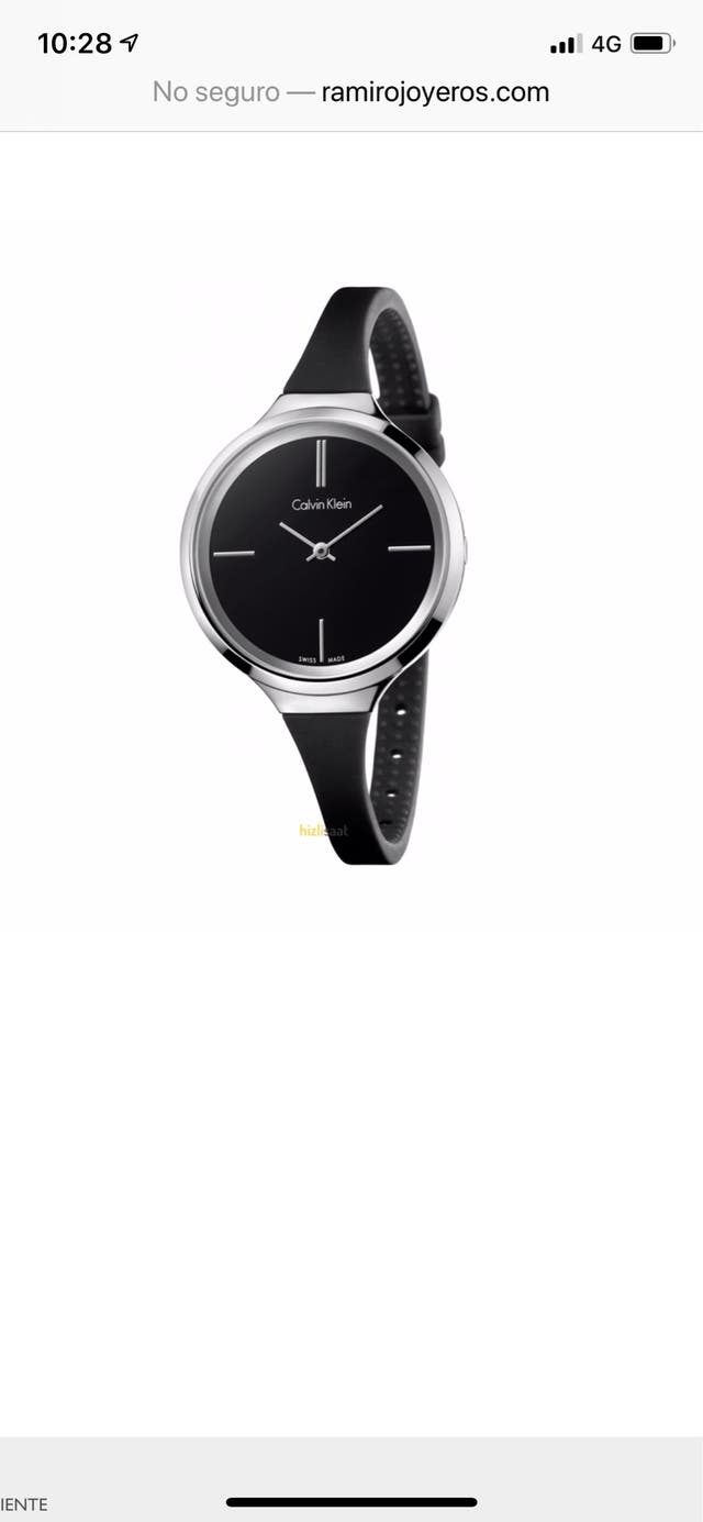 Reloj Calvin Klein. Lively. K4U231B1