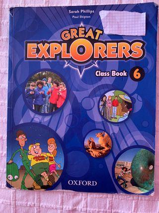 Libro de inglés 6 de primaria