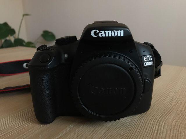 Canon 1300d con objetivo 18-55 con bolsa original