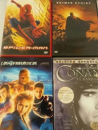 4 peliculas superheroes