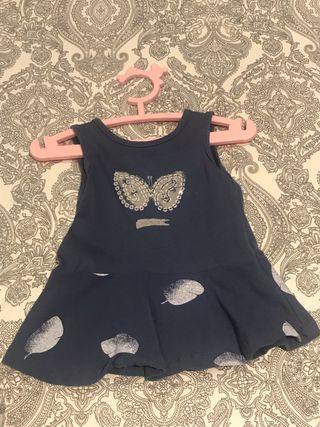 Vestido bebe niña 1 mes
