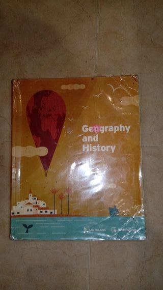 libro geografia e historia 1 eso bilingue