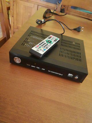 Sintonizador TDT con disco duro