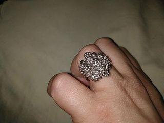 anillo plata antiguo
