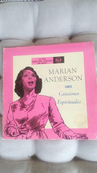 Antiguo vinilo doble, Marian Anderson