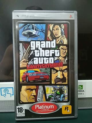 Juego PSP GTA Liberty City Stories.