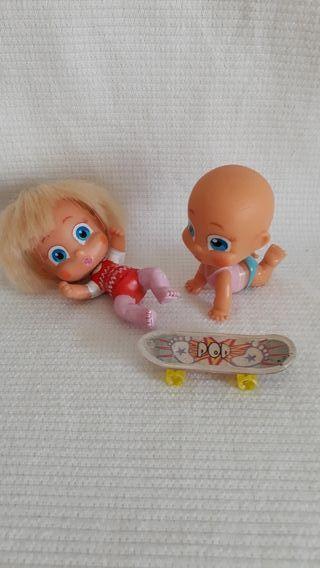 Muñecos bebés barriguitas