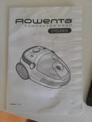 Vendo aspiradora sin bolsa ROWENTA.