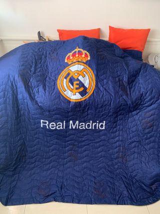 Edredón colcha Real Madrid oficial