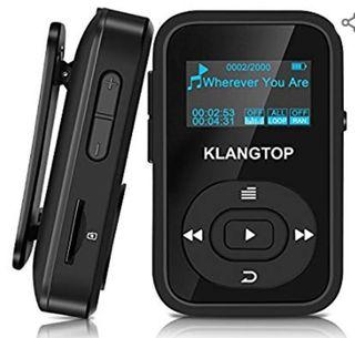 04965a07a Mini Reproductor MP3 Deportivo con Clip Bluetooth