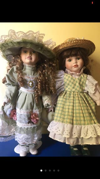 Lotazo muñecas antiguas porcelana