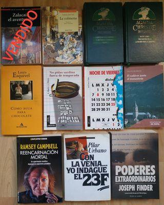 Oferta en libros. 1x4€ / 2x6€ / 3x8€