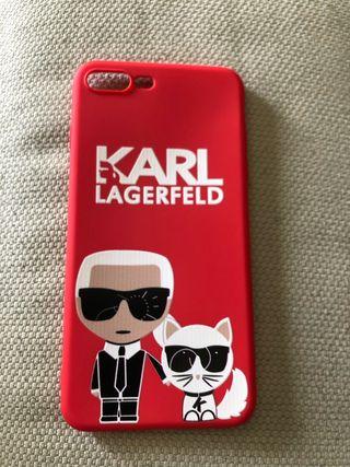 Carcasa Karl Lagerfeld para iPhone 8 Plus