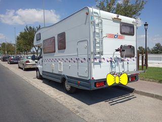 FIAT 6 PLAZAS con AIRE cabina y casa