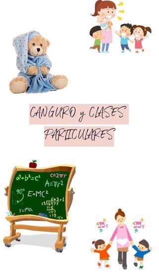 Canguro y profesora particular