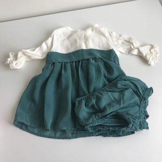 Vestido gocco bebe