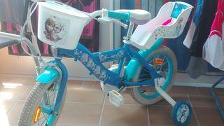 bicicleta de la frozen