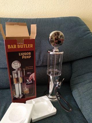 dispensador de licor, bar butler