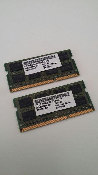 4GB memoria RAM en dos slots