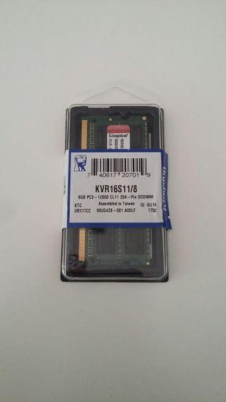 Memoria RAM Kingston 8GB