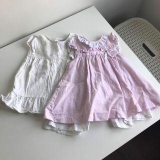Vestidos bebé 9-12 meses