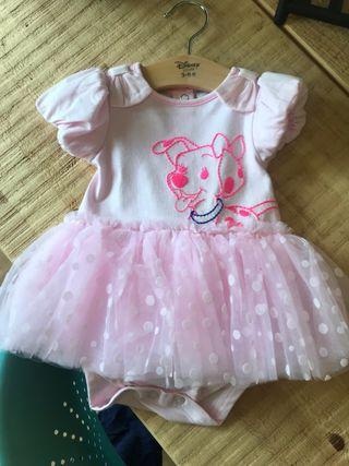 Vestido bebé Disney