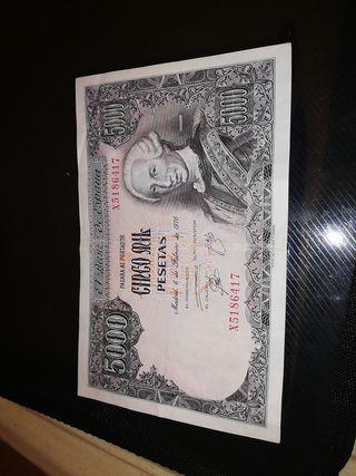 billete español antiguo