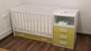 Dormitorio infantil evolutivo en perfecto estado
