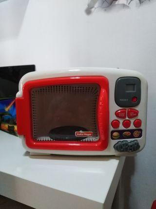 microondas juguettos. funciona como el primer día