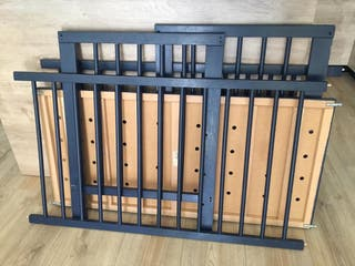 Cuna IKEA, 60x120cm, azul marino