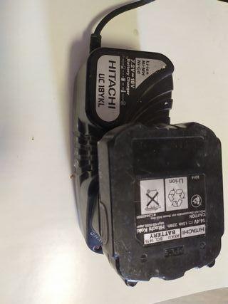 cargador de batería hitachi