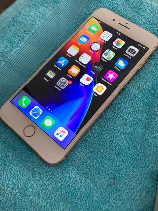 Iphone 8 plus 64gb dorado!