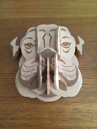 Máscaras de madera para colgar de zara Home