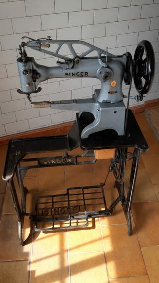 Maquinade coser Singer para zapateros