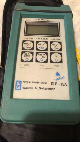 Tester fibra óptica Wandel & Goltermann OLP 15-A
