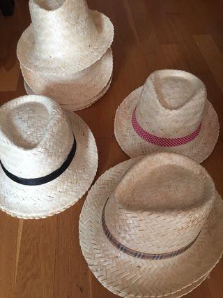 9 Sombreros de paja