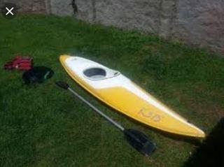 kayak fibra competición