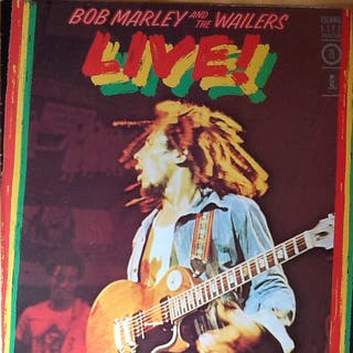 BOB MARLEY – LIVE!