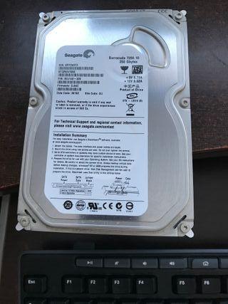 Disco Duro para PC SATA 250 Gb perfecto!