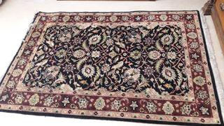 Alfombra persa antigua de lana