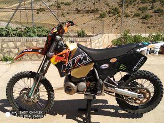 KTM exc 300 2t