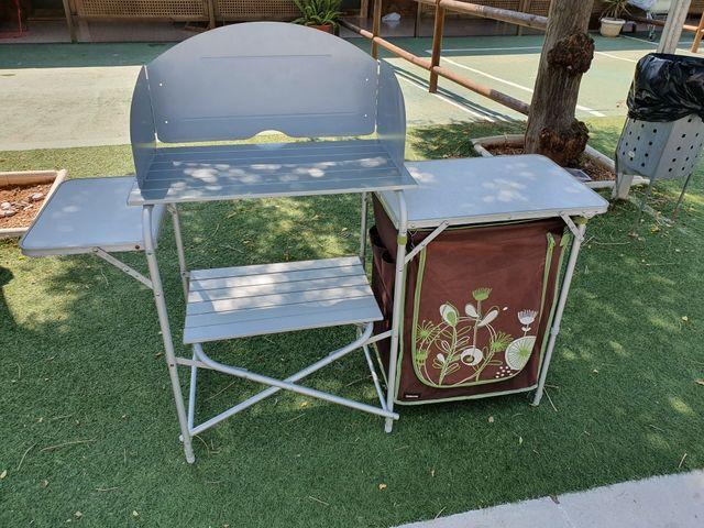Mueble cocina camping de segunda mano por 95 € en El Prat de ...