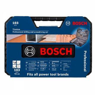 Maletín 103 piezas Bosch