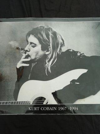 Póster Kurt Cobain Nirvana